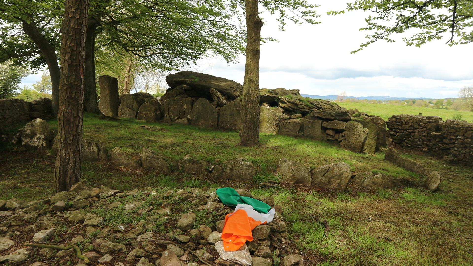 Leaba Cailleach - Witch's Grave. Photo Anne Marie Devlin